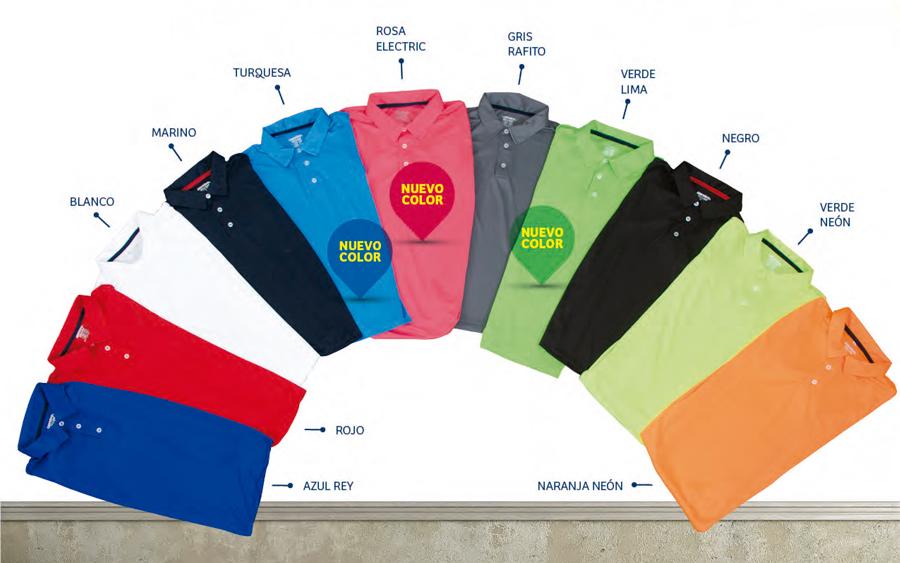 29e8e869a6c1d Fabricantes de Playeras. Catálogo de Colores Sparviero de Playeras